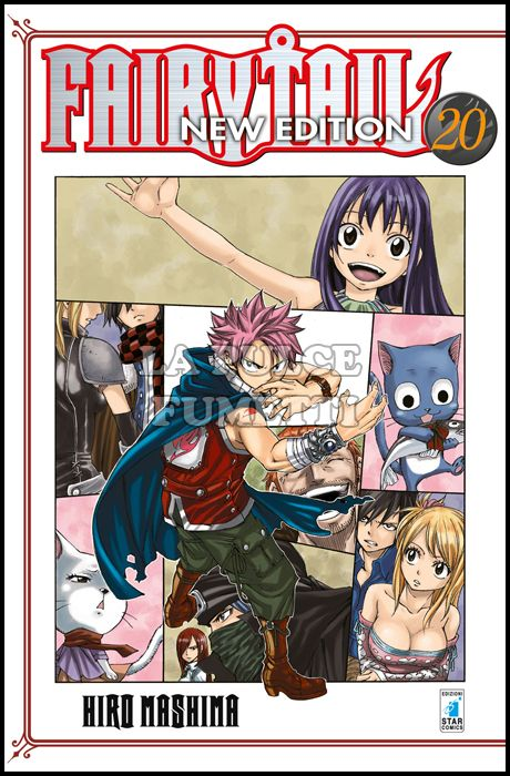 BIG #    20 - FAIRY TAIL NEW EDITION 20