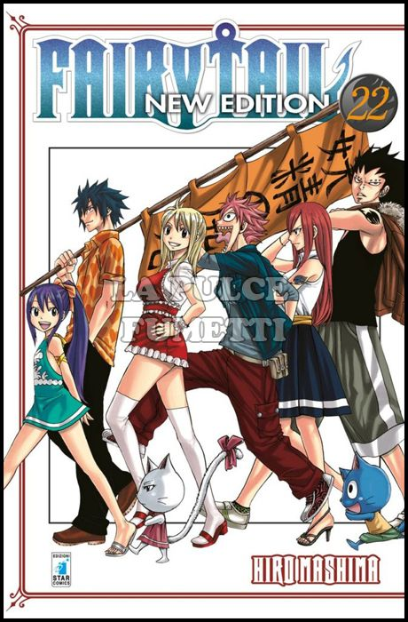 BIG #    22 - FAIRY TAIL NEW EDITION 22