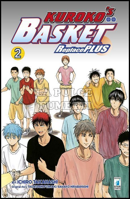 FAN #   237 - KUROKO'S BASKET REPLACE PLUS 2