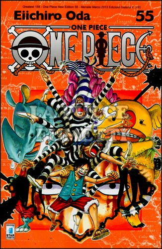GREATEST #   158 - ONE PIECE NEW EDITION 55