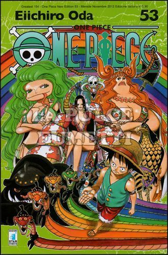 GREATEST #   154 - ONE PIECE NEW EDITION 53