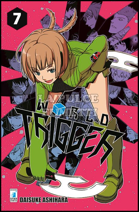 STARDUST #    50 - WORLD TRIGGER 7