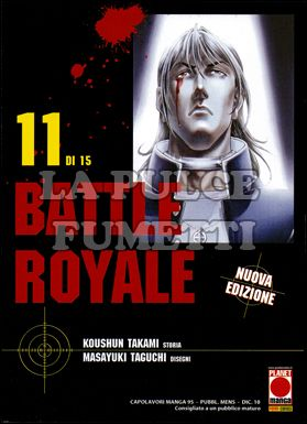 CAPOLAVORI MANGA #    95 - BATTLE ROYALE 11