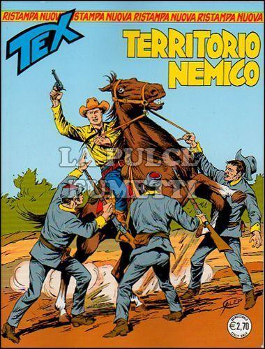 TEX NUOVA RISTAMPA #   298: TERRITORIO NEMICO