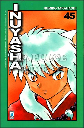NEVERLAND #   267 - INUYASHA NEW EDITION 45