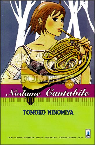 UP #    85 - NODAME CANTABILE  6